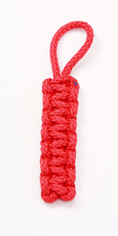 Flat Shackle Pull, Red
