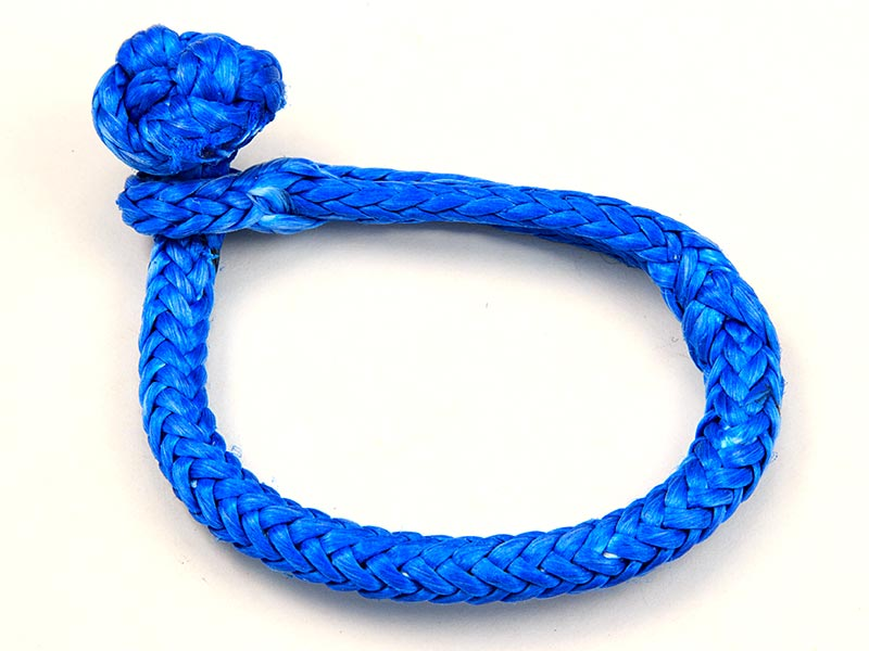 "1/8"" Soft Shackle, Blue"